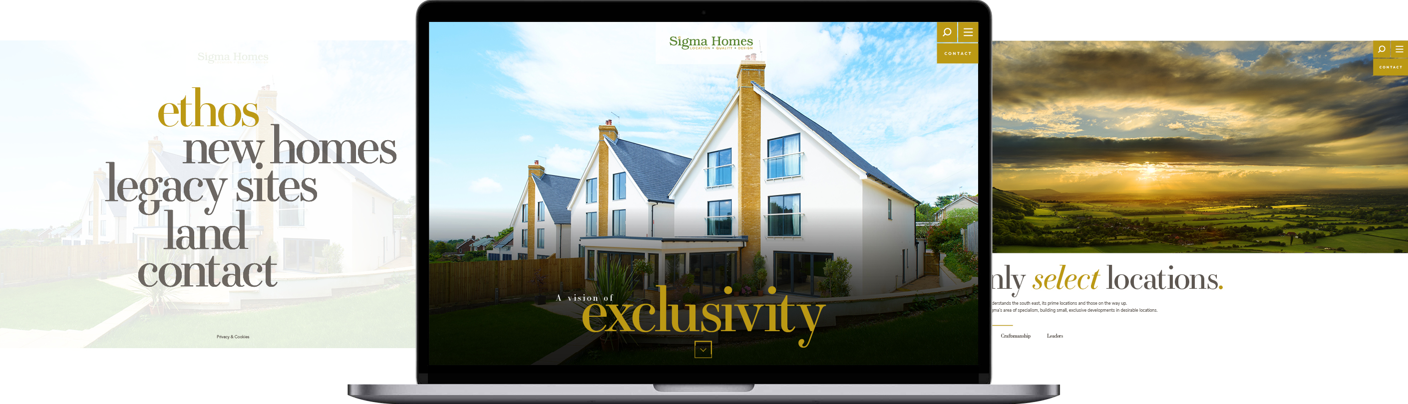 Sigma Homes Website